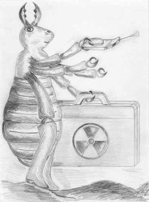 фото ядрена вошь